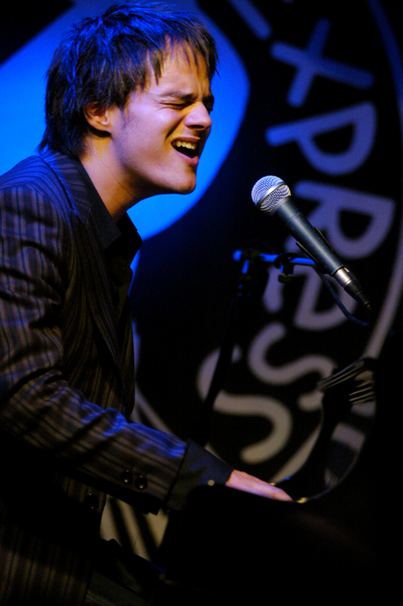 Jamie Cullum playing live at PizzaExpress Jazz Club, 10 Dean Street, Soho, London