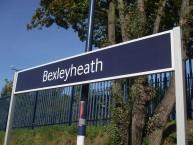 Bexleyheath station sign