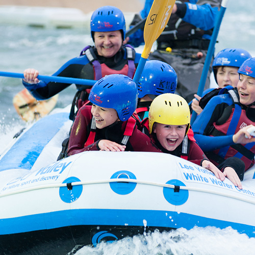 white water rafting in East London